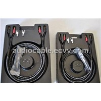 Audioquest k2 Speaker Cable with 72v Dbs Single-Biwire y Spade Connectors Pair 100% Original Box 3m