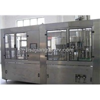 Automatic 3 in 1 mineral pure water bottling machine