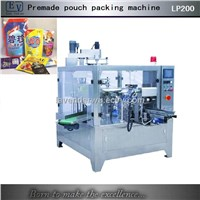 Automatic zipper bag packing machine