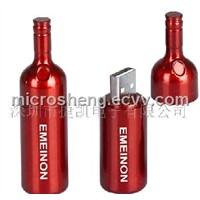 Beer Bottle Metal USB Drive