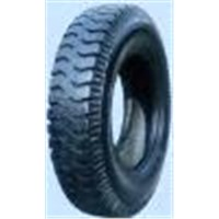 Bias Truck Tire with LUG Pattern