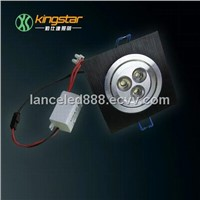 CE/RoHs 3W high power led downlight