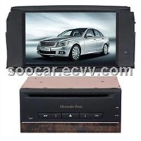 Car Mercedes_Benz C200 TFT-LCD Entertainment System with BT GPS
