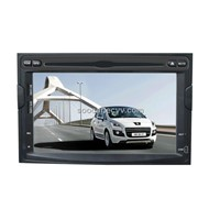 Car Peugeot Touch Screen 7 inch TFT-LCD Entertainment System with GPS/BT/DVD