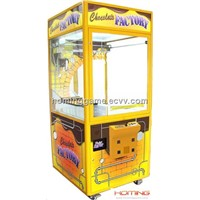 Chocolate Crane Machine Vending Machine(Aluminum)(Hominggame-Com-754)