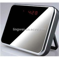 Clock Camera With 140 Degree Wide Lens 5.0 Mega Pixels + Video Recorder + Motion Detection