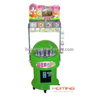 Coin Operated Cotton Candy DIY Vending Machine(Hominggame-Com-761)