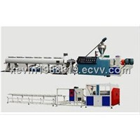 Conical Twin Screw PVC Pipe Extruder
