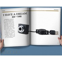 Cute Notebook  mini pc camera