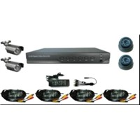 DVR&camera kit(KD-9304Kit),4CH H.264 DVR WITH 4 CMOS CAMERA KITS