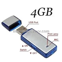 Design Promotional Mini 4GB Digital Voice Recorder USB Flash Disk Design-Ultra Portable recorder