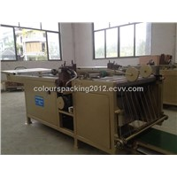 Double-head sewing machine for cement bags