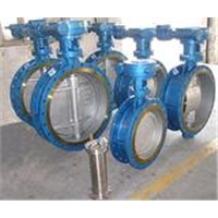 Eccentric metal seal butterfly valve,hard seal butterfly valve