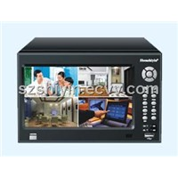 Embedded 4CH DVR LCD Player