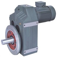 F series parallel shaft helical gear reductor