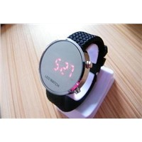 Fashion Silicone LED Mirror Silicone Red Watch - 10 Color Available