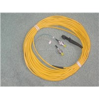Fiber optic patch cable mtrj-mtrj singlemode