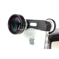 Fisheye+Marco+Super Wide angle phone Lens for iphone 5