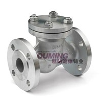 Flanged spring check valve (H41W-16P)