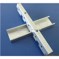 Galvanized steel ceiling channel for suspended ceiling