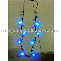 Ghost Flashing Necklace with 8-piece LED (WY-HFN02)
