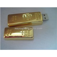 Golden Bar USB Drive