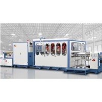 HSC-750850 Plastic Thermoforming Machine Automatic Line