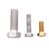 Hex head bolts screws ISO4014/ISO4017/DIN960/DIN961/DIN6914