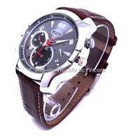 High Definition 1080p Night Vision Waterresistant Men Watch DVR Camera,1-32GB TF Card Optional