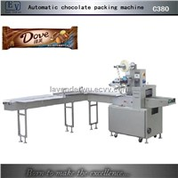 Horizatal candy chocolate wrapping machine