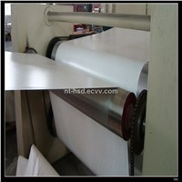 Horizontal two step impregnation line