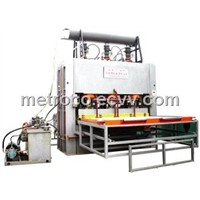 Hot Press Machine For Short Cycle Lamination