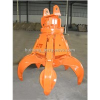 Hydraulic Rotating Metal Grab for Excavator