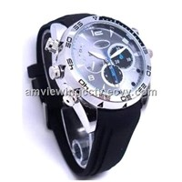 IR Night Vision 1080P HD Spy DVR Watch Waterproof,Sound Recording Separately