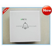 Intelligent touch doorbell switch used for doorbells with LED indicator, AC110V-240V