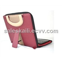 Ipad Holster Keyboard (silica gel/ABS glue) with zipper  (CL-811)