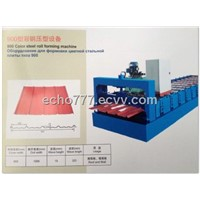 JCX- 900 Color Steel Roll Forming Machine