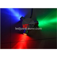 LED Wall light 3W RGB 120 Degree