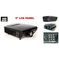 LED projector DG-737L for entertainment with long lamp ,low voice and light weight