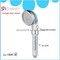 LL-1504 PC Bathroom Accessories Magnetic Anion Hand Shower