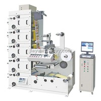 Label Printing Machine with Die-cutting Stations