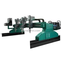 Large CNC Plasma/Flame Cutting Machine