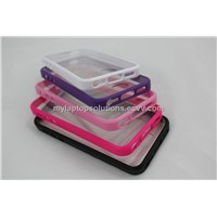 Latest Mobile Phone Clear Plastic Cover Case for iPhone 5