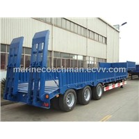 Lowbed Semitrailer / Low Bed Semi Trailer / hydraulic lowbed semi trailer /bogie lowbed semi trailer