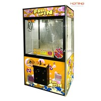 Lucky Wheel Crane Machine Vending Game(Hominggame-Com-775)