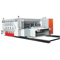 MJZX-1 High speed Flexo Printing, Slotting and Die-cutting Machine