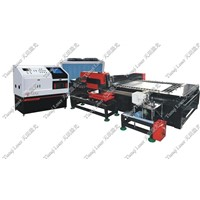 Metal sheet and pipe  laser cutting machine