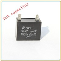 Metalized film AC capacitor for motor usewith good quality