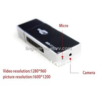 Mini U Disk Style USB Flash Hidden HD Camera Mini DVR With Motion Detection Wireless Security Camera