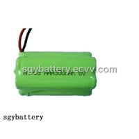 Ni-Cd AAA300mah 6V Rechargeable Battery Pack